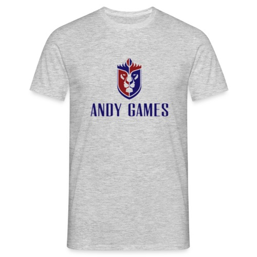 logo andygames - Mannen T-shirt