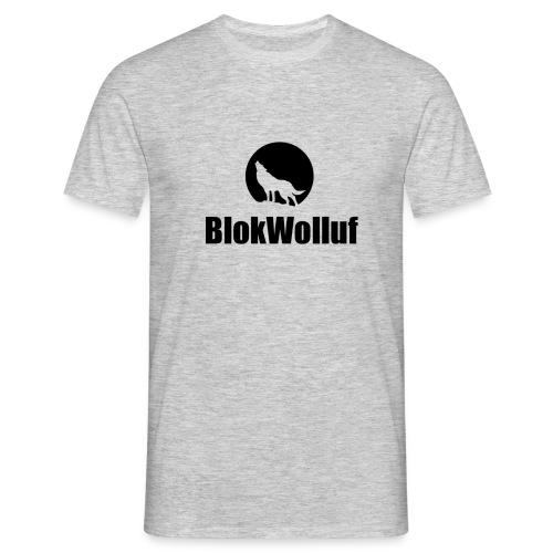 Blokwolluf - Mannen T-shirt