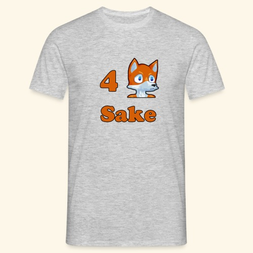 4 Fox Sake - T-shirt herr