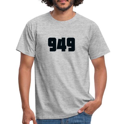 949black - Männer T-Shirt