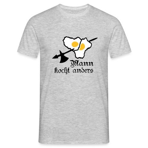Spiegelei am Spieß - Männer T-Shirt