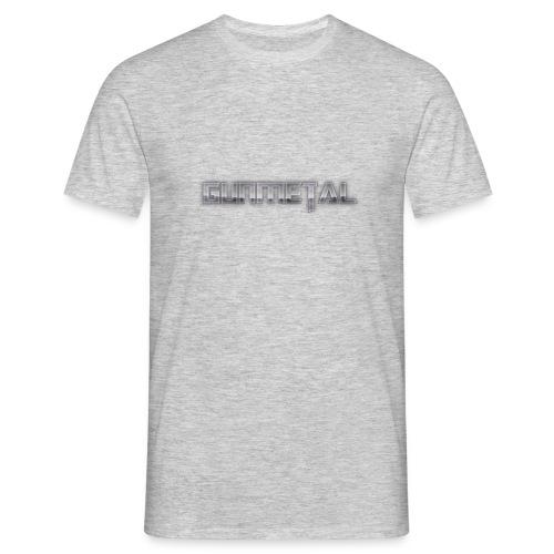 Gunmetal - Men's T-Shirt