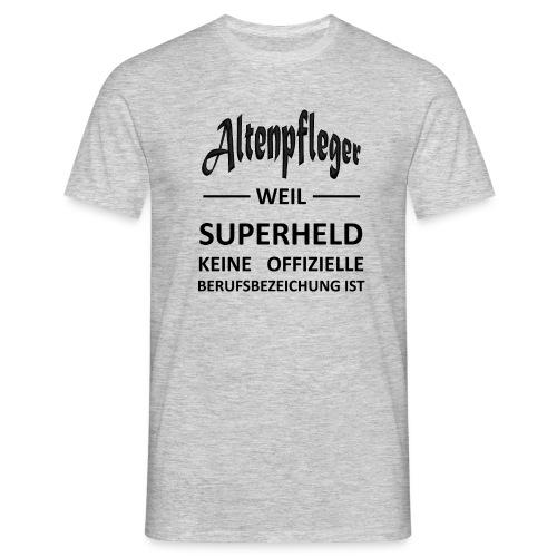 Berufe Shirt - Altenpfleger - Männer T-Shirt