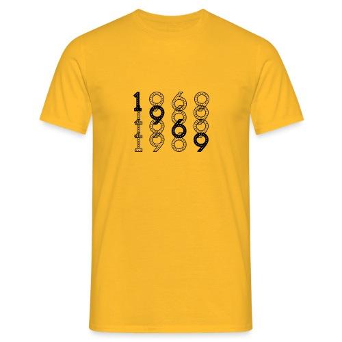 1969 syntymävuosi - Miesten t-paita