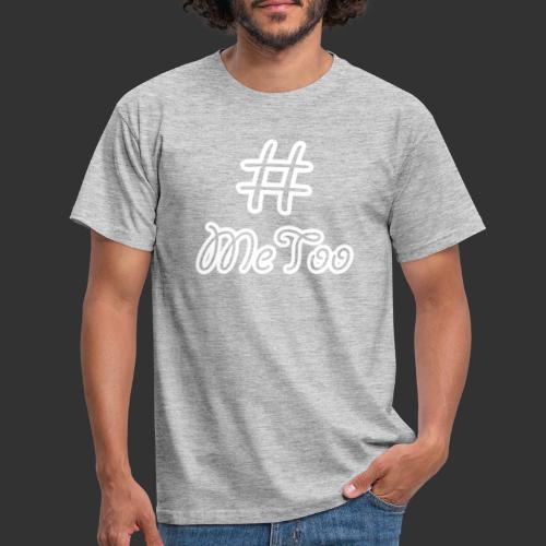 T-shirt dam Premium, Hashtag MeToo - T-shirt herr