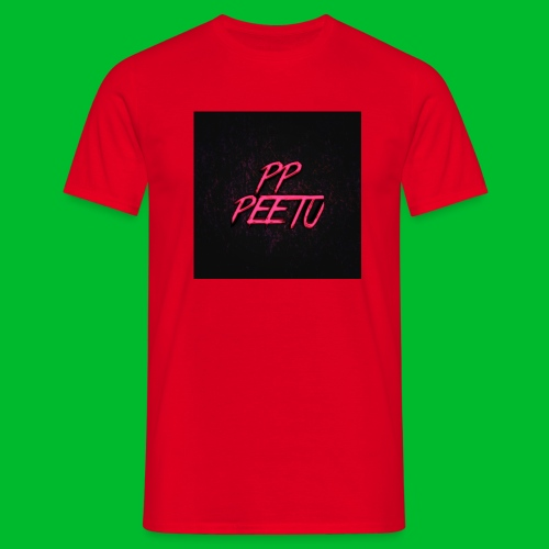 Ppppeetu logo - Miesten t-paita