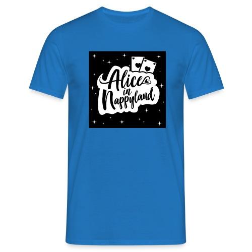 Alice in Nappyland 1 - Men's T-Shirt