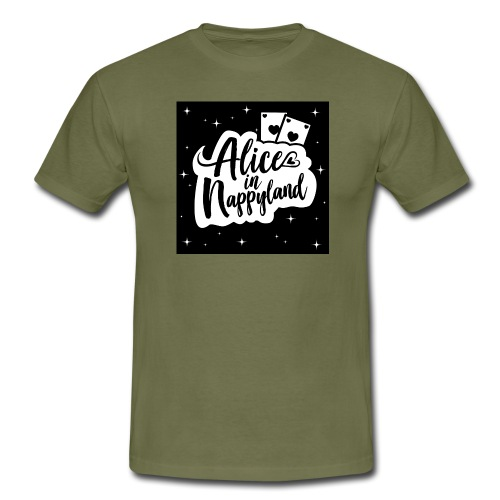 Alice in Nappyland 1 - Men's T-Shirt