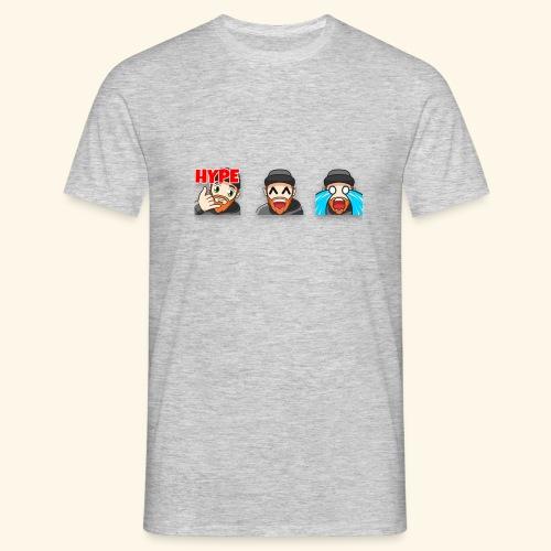 3Emotes - Men's T-Shirt