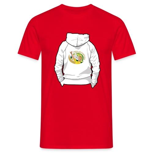 hoodyback - Mannen T-shirt