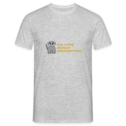 Süßes Kätzchen - Männer T-Shirt
