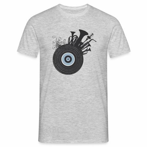 Live in Music - Maglietta da uomo