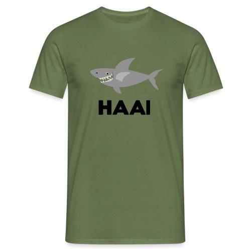 haai hallo hoi - Mannen T-shirt