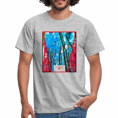 Natur Wald Forest Bäume - Männer T-Shirt