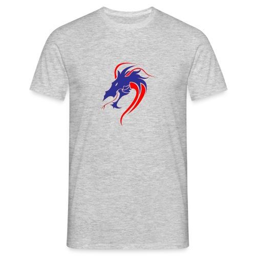 dragon en colère - T-shirt Homme