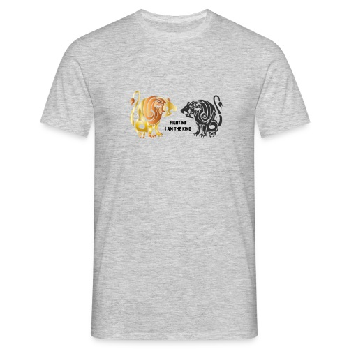 fight me #lion #king - T-shirt Homme