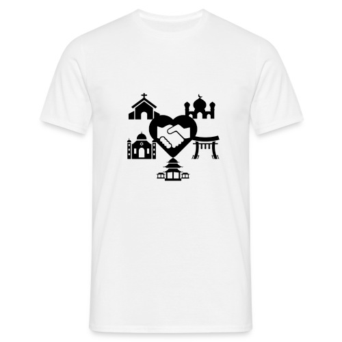 religion peace - T-shirt Homme