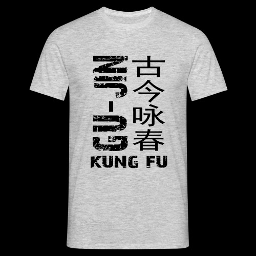 sidewaysgrayedlogo - Men's T-Shirt