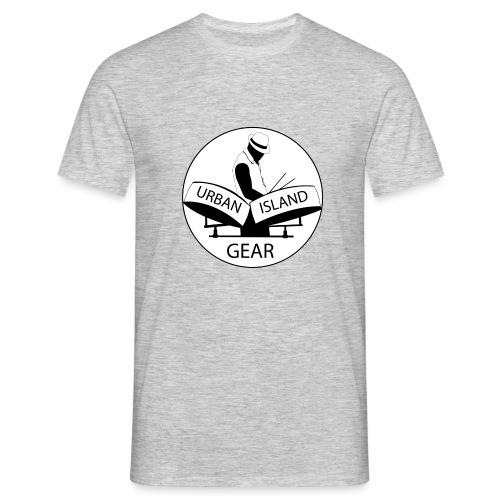 URBAN ISLAND GEAR - Herre-T-shirt