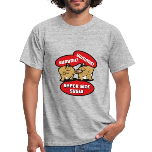 Super Size Sushi - Männer T-Shirt