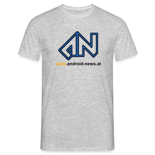 Android News Schwarz - Männer T-Shirt