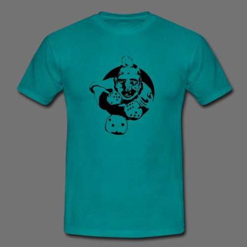 Professional Gambler (1c musta) - Miesten t-paita