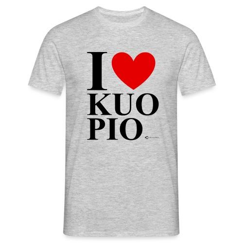 I LOVE KUOPIO ORIGINAL (musta) - Miesten t-paita