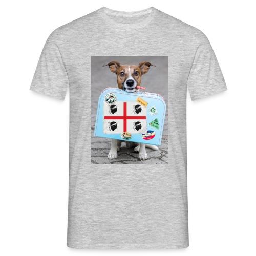 Quattro Mori cane - Maglietta da uomo