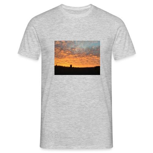 Himmel - T-skjorte for menn