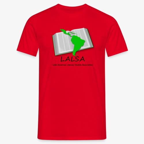 LALSA Dark Lettering - Men's T-Shirt