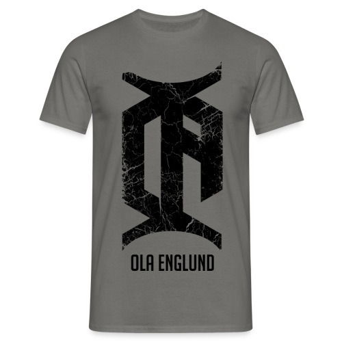 Distressed-Black - Men's T-Shirt