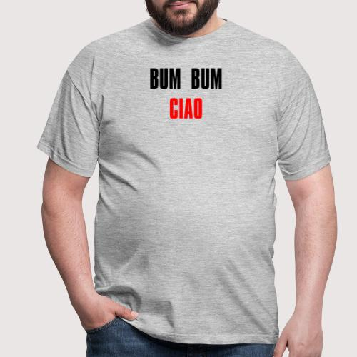 Bum bum ciao - money heist - casa papel - Camiseta hombre