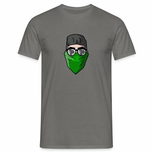 GBz bandana logo - Men's T-Shirt