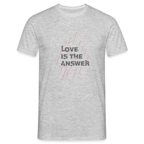 LOVE IS THE ANSWER 2 - Maglietta da uomo