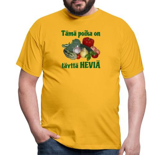Poika täyttä heviä - Miesten t-paita
