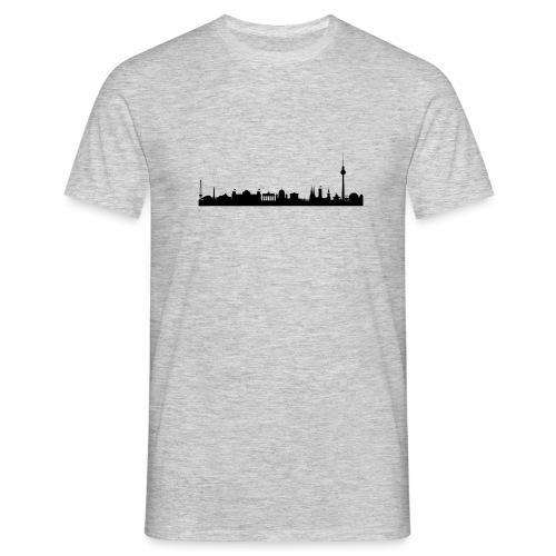 berlin skyline - Männer T-Shirt