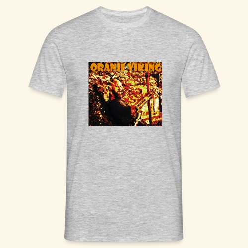 oranje viking - Männer T-Shirt