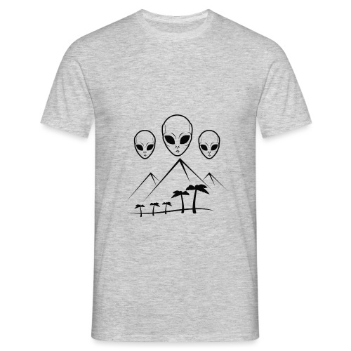 Pyramides & Extraterrestres - T-shirt Homme