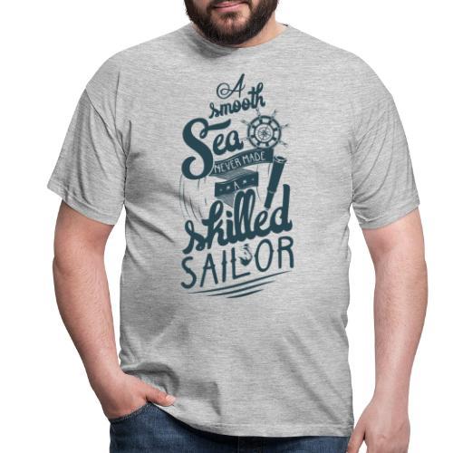 A smooth sea - Männer T-Shirt