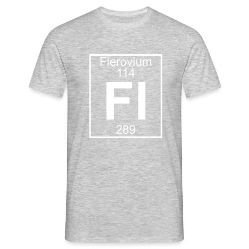 Flerovium (Fl) (element 114) - Men's T-Shirt