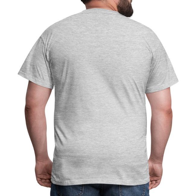 Vorschau: Mindestobstaund hod ned highaut - Männer T-Shirt