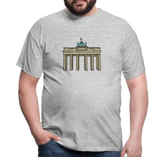 Brama Brandenburska BERLIN c - Koszulka męska