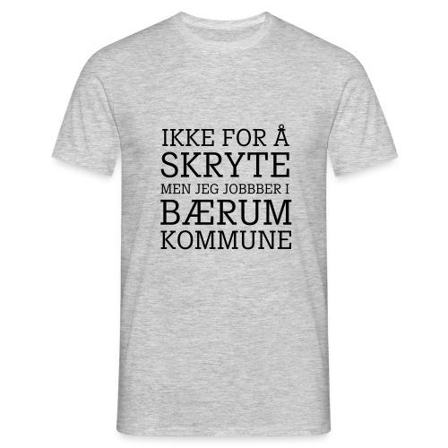 Baerum kommune - T-skjorte for menn