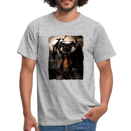 Canis Draconi Terrier - Mannen T-shirt