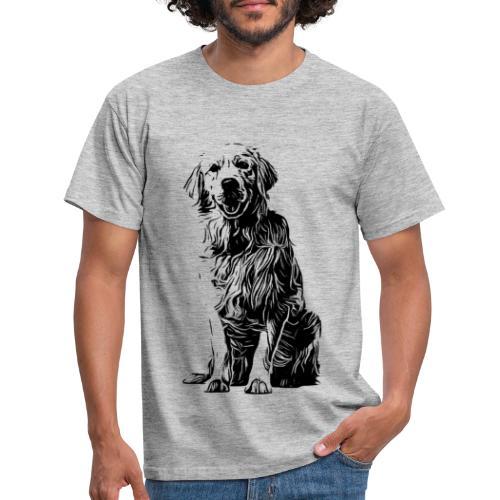 Golden Retriever - Hunde Geschenkidee - Männer T-Shirt