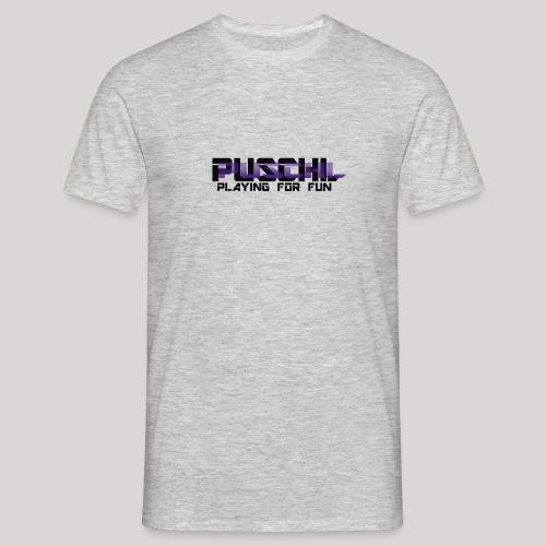 Das Puschl Logo - Männer T-Shirt