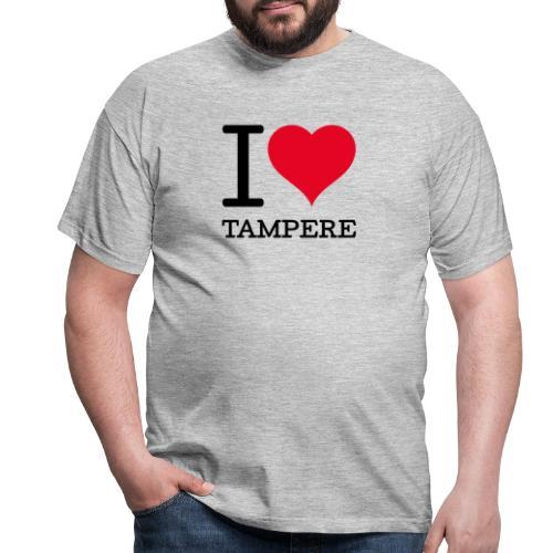 I love Tampere - Miesten t-paita