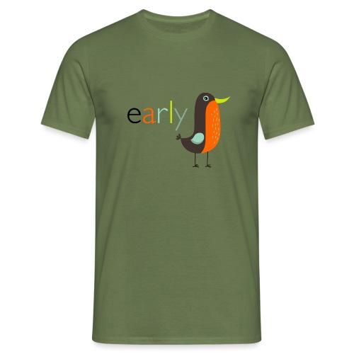 earlybird - Mannen T-shirt