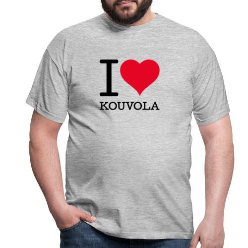 I love Kouvola - Miesten t-paita
