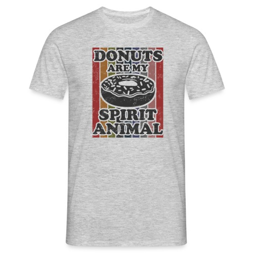 donuts are my spirit animal - Mannen T-shirt